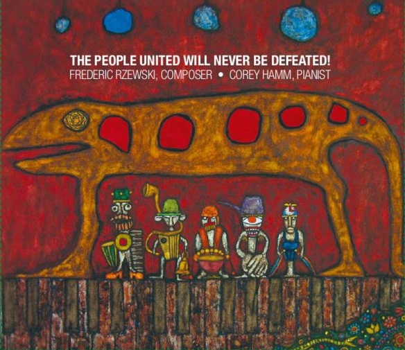 The People United Will Never Be Defeated!: New CD by Corey Hamm